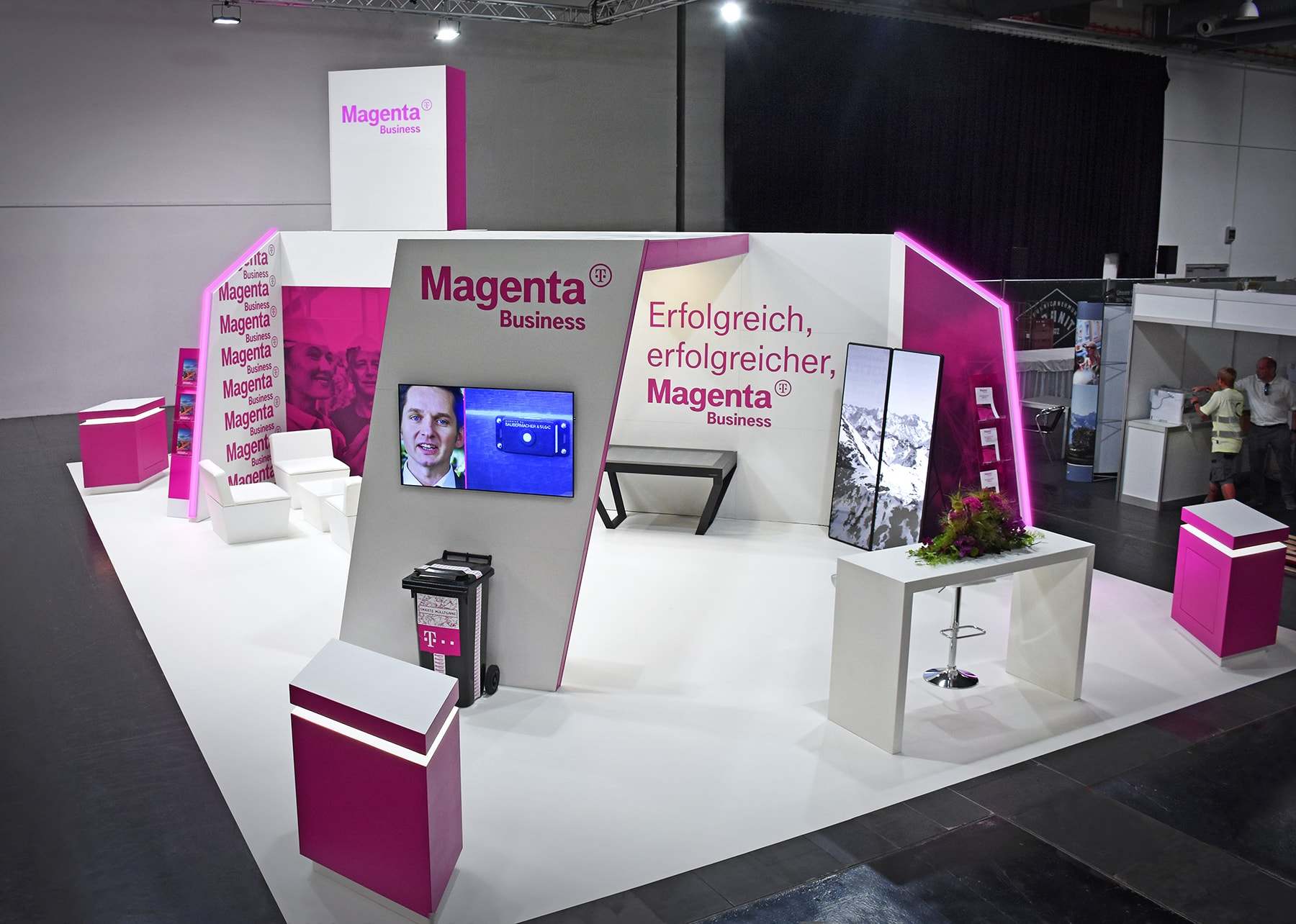 Messeauftritt Magenta Business 2019